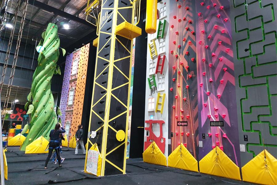 Funtopia Maribyrnong rock climbing in Melbourne