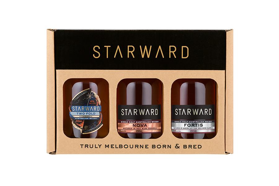 Starward Australian Whisky Tasting Gift Pack Christmas Gift Guide