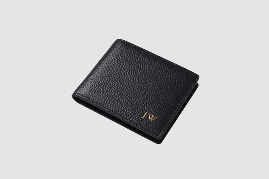 The Daily Edited Slim Line Bi Fold Personalised Wallet Christmas Gift Guide