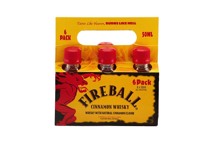 Fireball Cinnamon Whisky Mini's 6 Pack Christmas Gift Guide