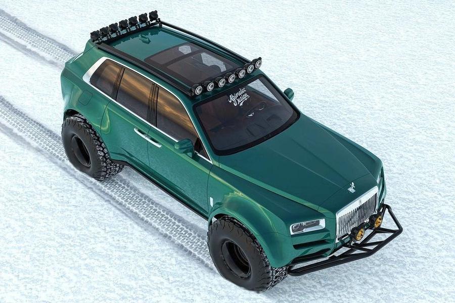 Arktisexpeditionen Bentley Conversion Draufsicht