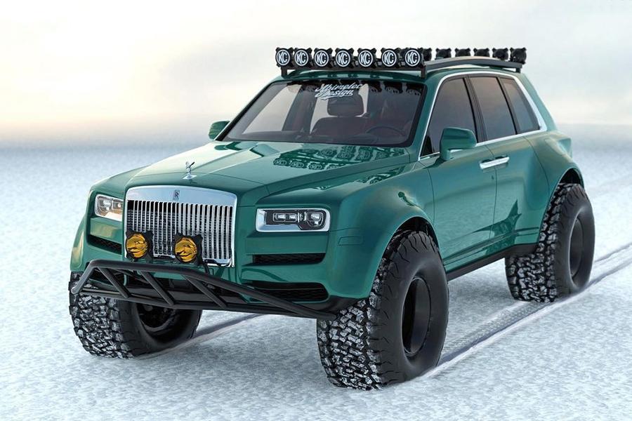 Arktisexpeditionen Bentley Conversion Vorderansicht