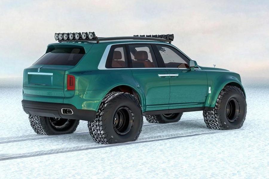 Arktisexpeditionen Bentley Conversion Rückseite