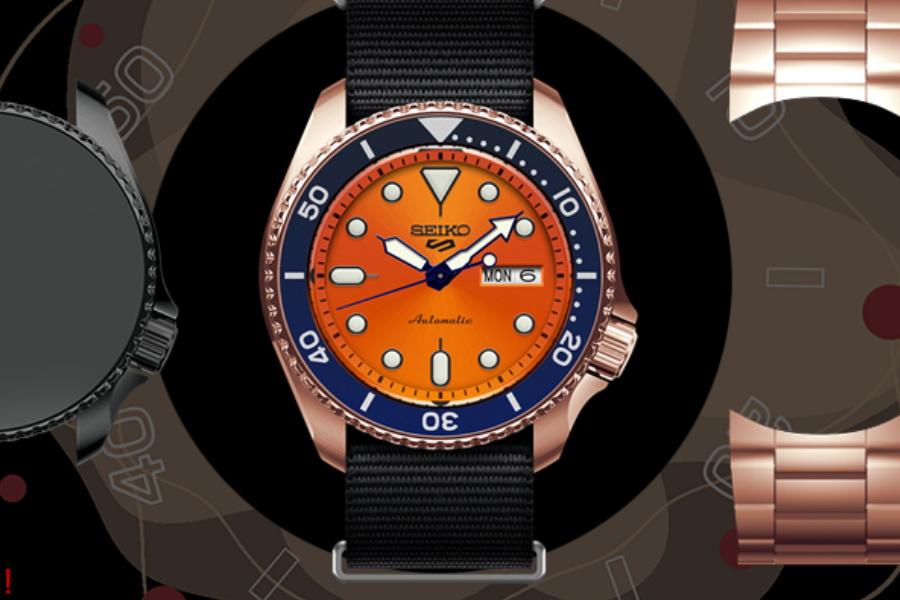 Erstellen Sie eine benutzerdefinierte Seiko 5 Sportuhr und sie könnte die nächste Limited Edition-Version werden