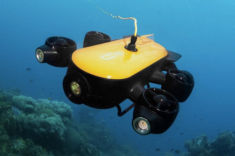Geneinno T1 Pro untersucht die Unterwassertiefen im Detail