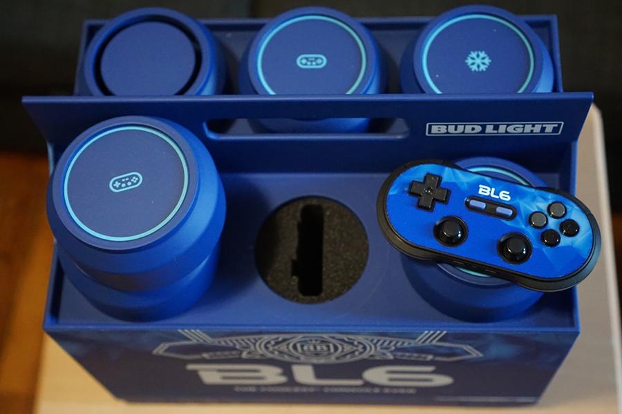 Das Budlight Video Game Console Top