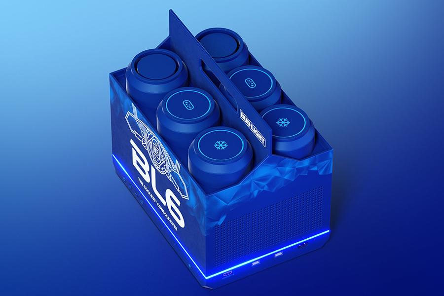 Die Budlight-Videospielkonsole