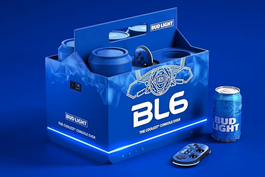 Bud Light hat gerade eine Videospielkonsole auf den Markt gebracht, die Ihr Bier kühlt