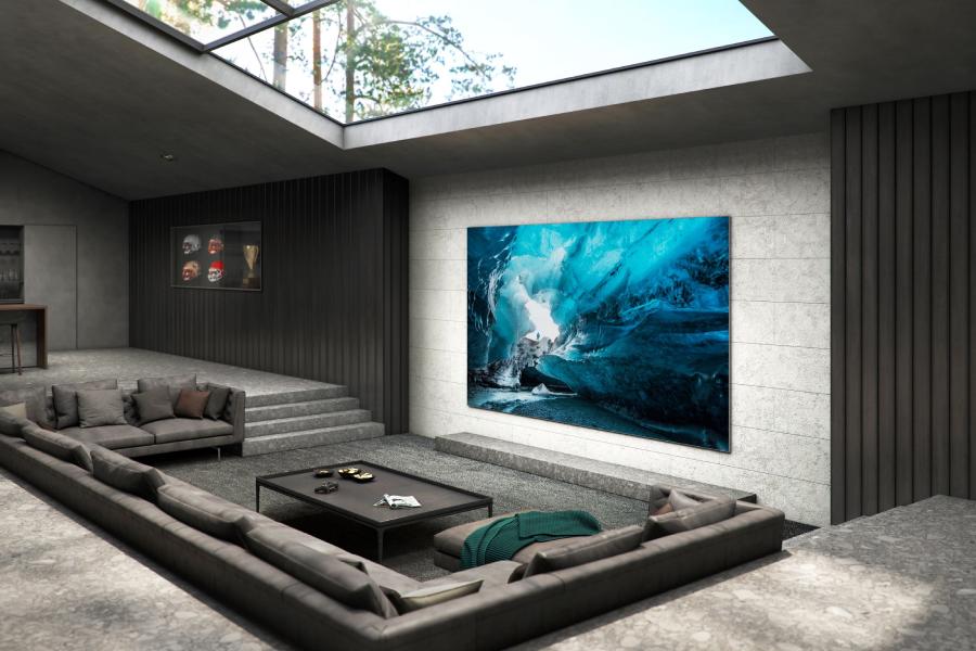 Samsung präsentiert erstaunlichen 110-Zoll-MicroLED-Fernseher im Wert von 200.000 US-Dollar