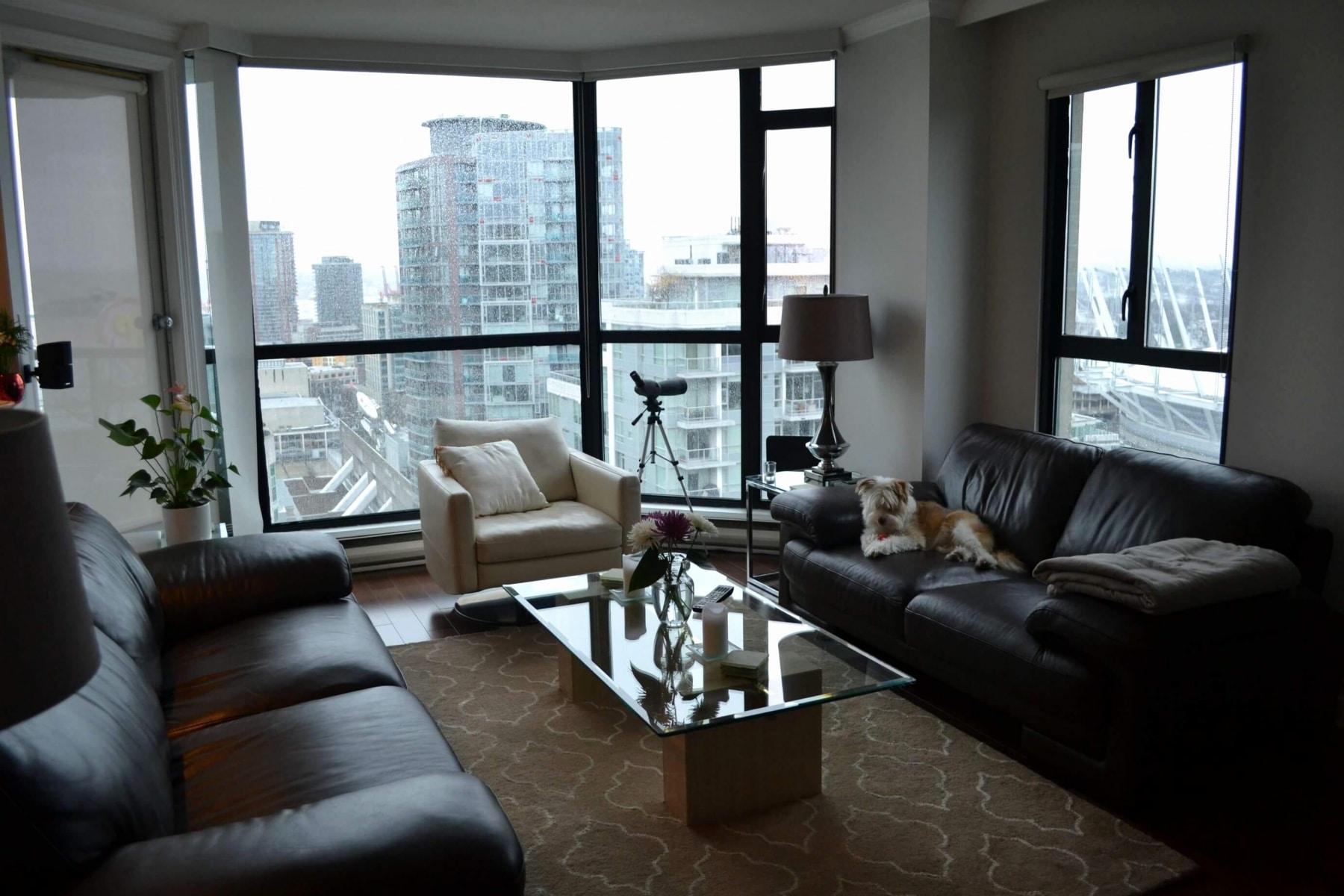 masculine living room for bachelor pad