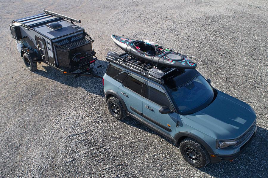 Ford enthüllt Custom F 150 Bronco und Bronco Sport Antenne
