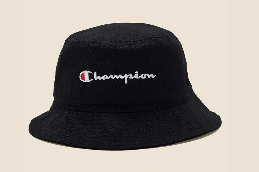 Champion Twill Script Bucket Hat