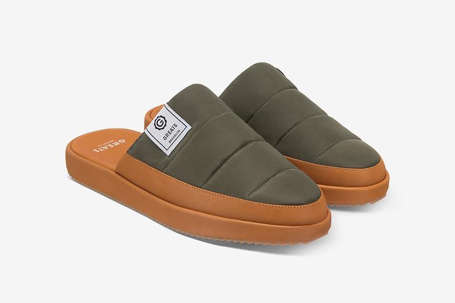 Greats hält Ihre Füße mit dem Foster Slipper gemütlich