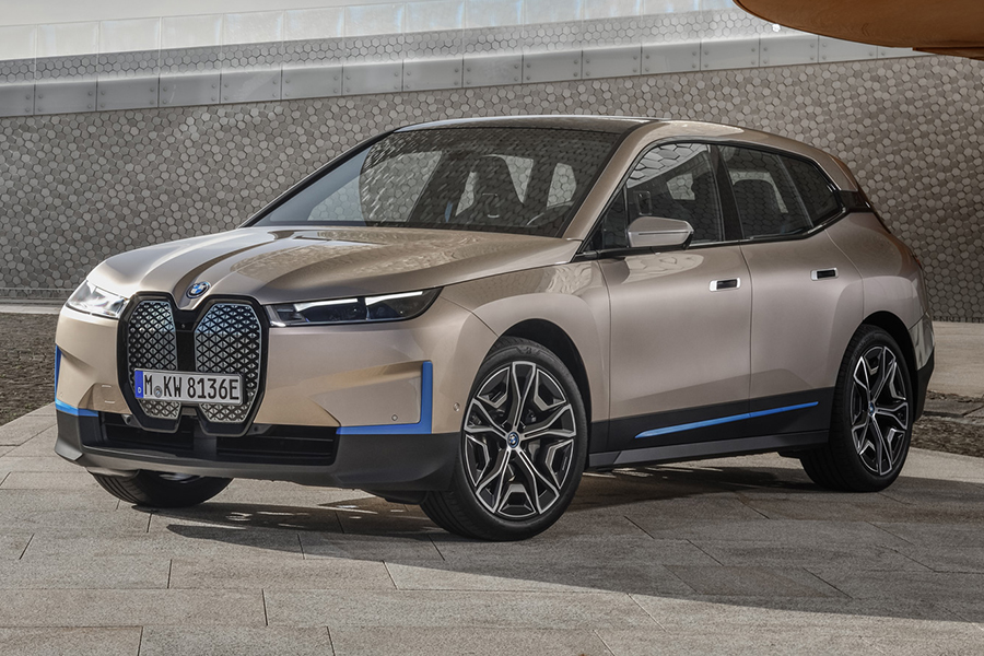 BMW 2022 ix Seite