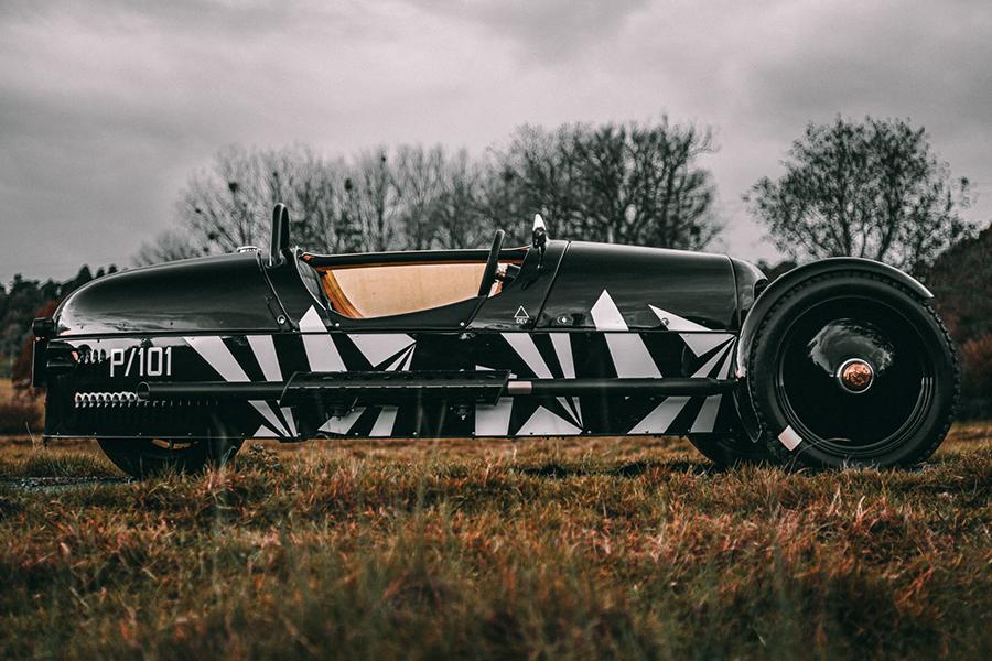 Morgan bringt neuen 3 Wheeler P101 in limitierter Auflage auf den Markt