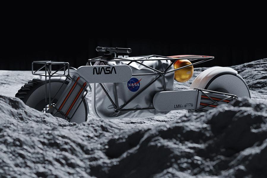 NASA Motorrad