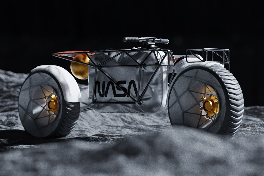 Das NASA-Motorrad ist wirklich nicht von dieser Welt