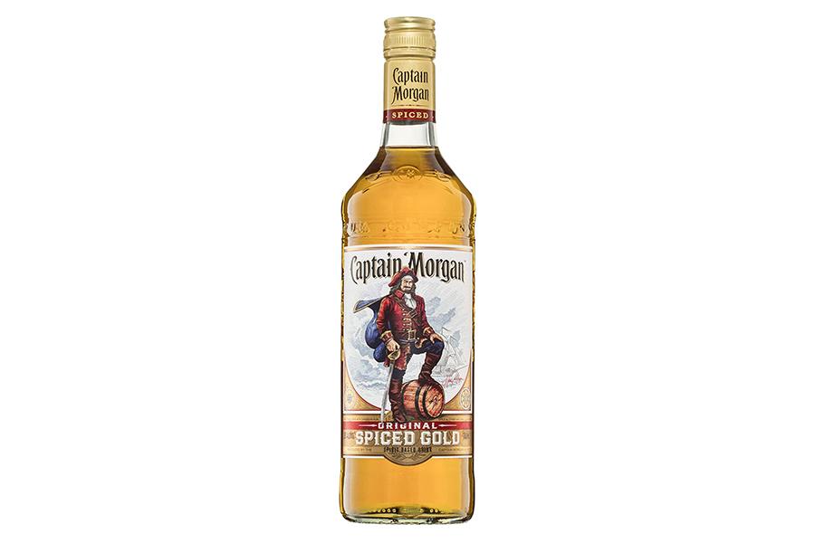 Captain Morgan Original Spiced Gold 700 ml Beste Rum-Marken