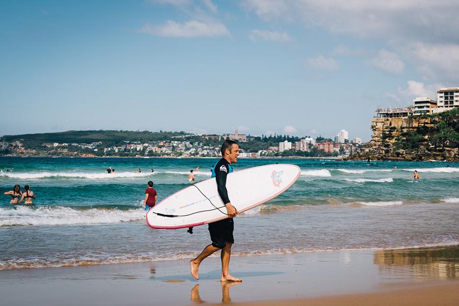 Beste Strände in Sydney Freshwater Beach