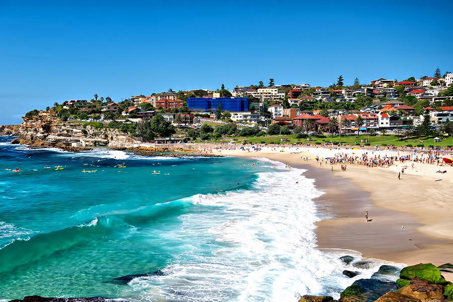 Beste Strände in Sydney Bronte