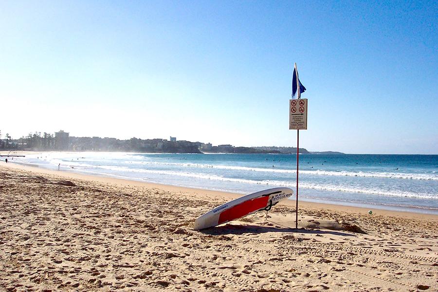 Beste Strände in Sydney Manly Beach
