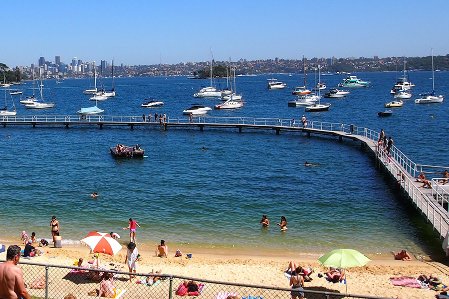 Beste Strände in Sydney Murray Rose Pool