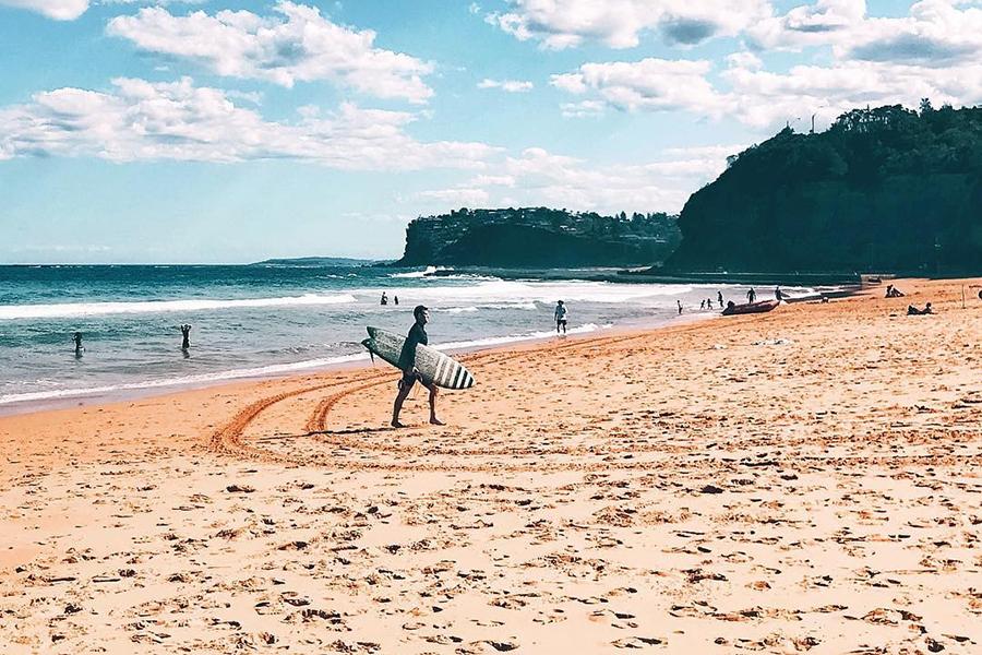 Beste Strände in Sydney Chinamans Beach