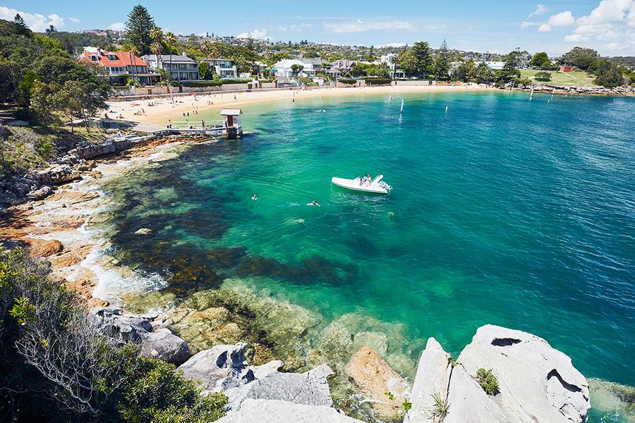 Beste Strände in Sydney Camp Cove