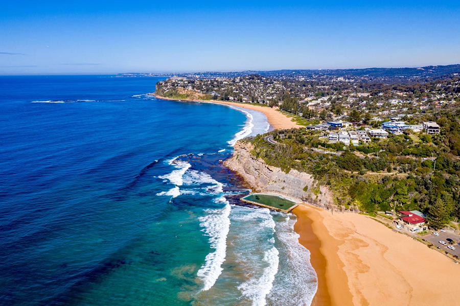 Beste Strände in Sydney Bilgola