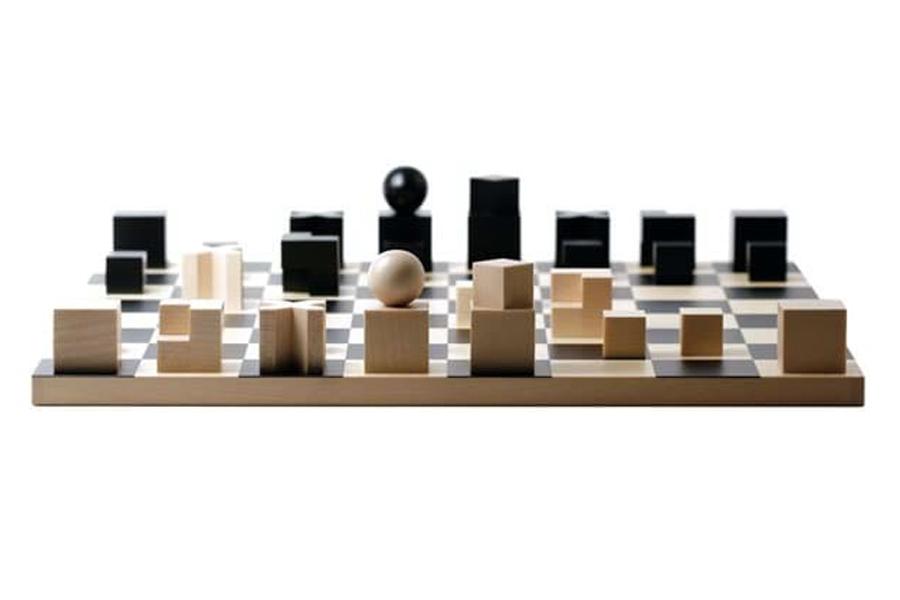 Beste Schachspiele - Bauhaus-Schachspiel von Josef Hartwig