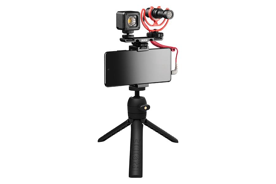 Das RODE Vlogger Kit bietet alles, was Sie zum Filmen benötigen