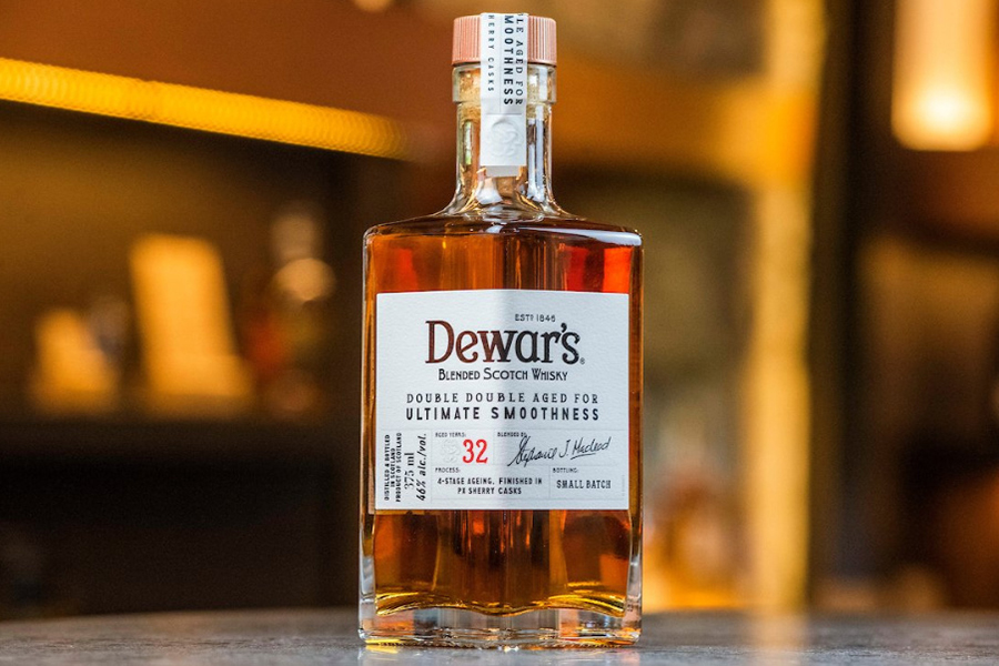 Top 100 Products of 2020 Dewars Double Double 32 Year Old