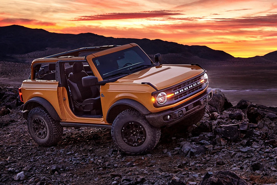 Top 100 Products of 2020 2021 Ford Bronco