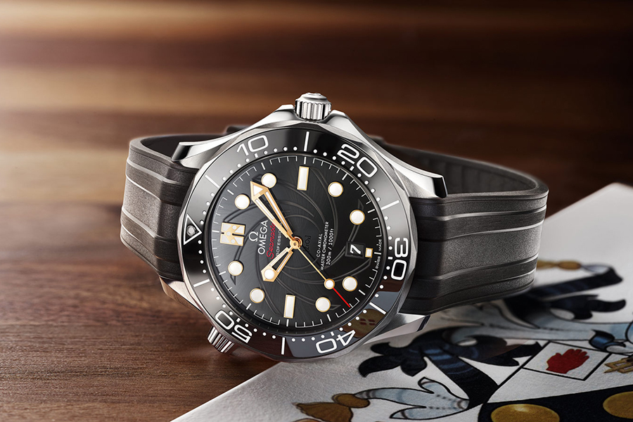 Top 100 Products of 2020 OMEGA Seamaster diver 300m Bond special Edition
