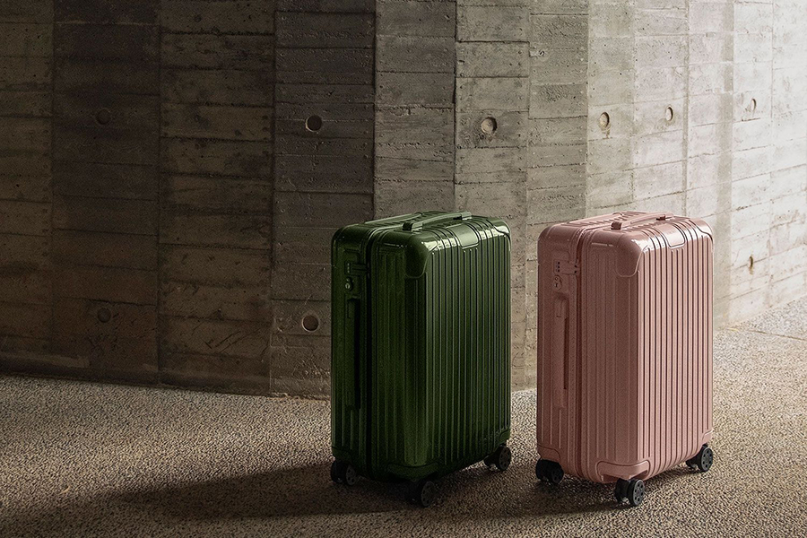 Top 100 Products of 2020 Rimowa Essentials Colour of the Dessert Luggage Collection
