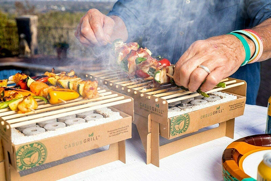 Top 100 Products of 2020 casusgrill biodegradable grill