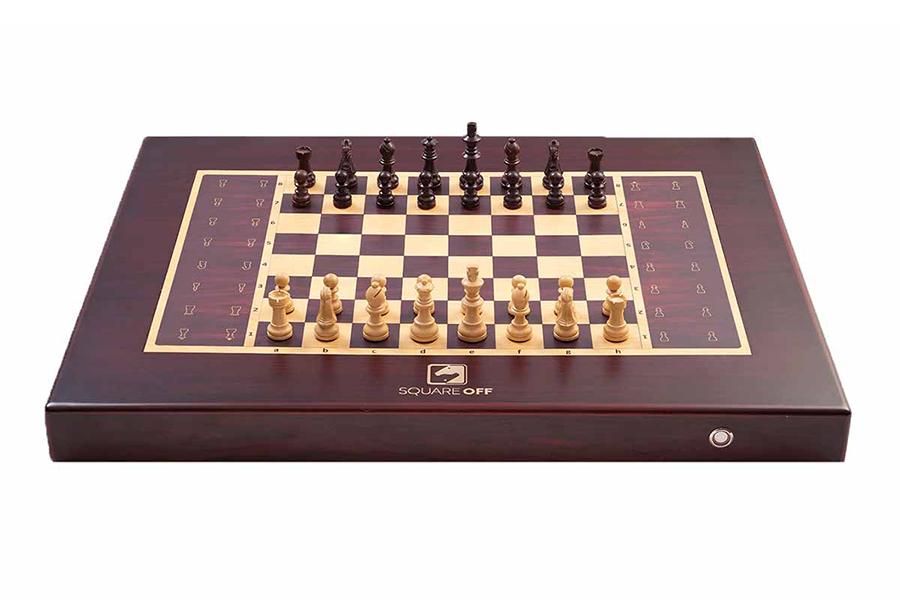 Quadratische Schachbrettfront