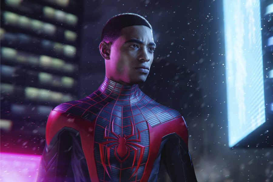 Spider Man auf Playstation 5