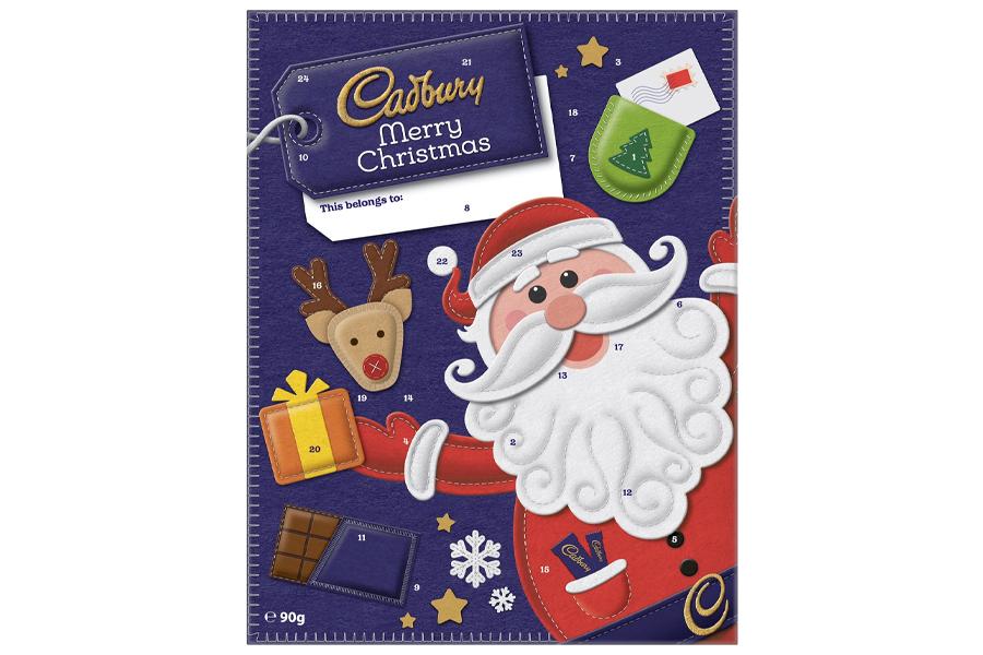 Beste Adventskalender - Cadbury