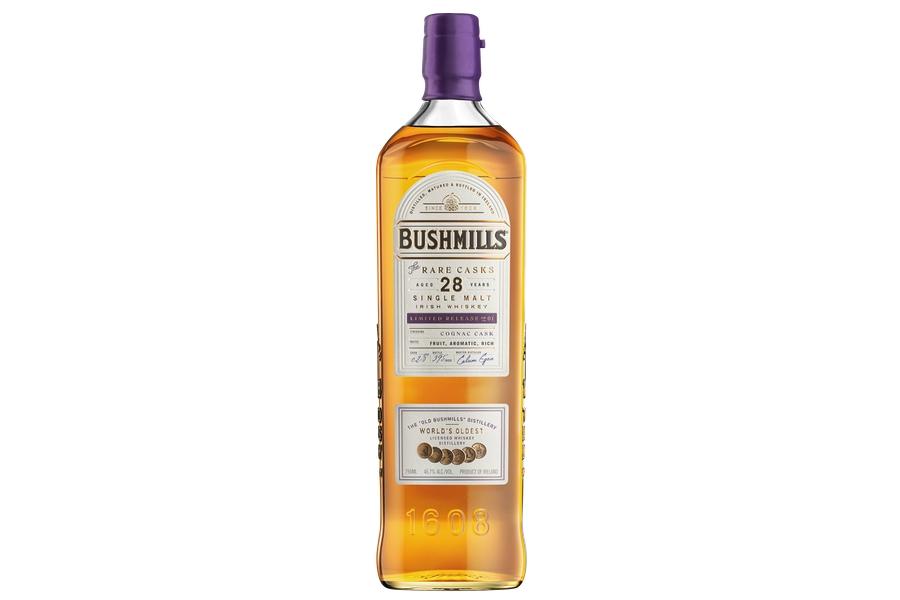 Bushmills 28 Jahre Cognac Fass