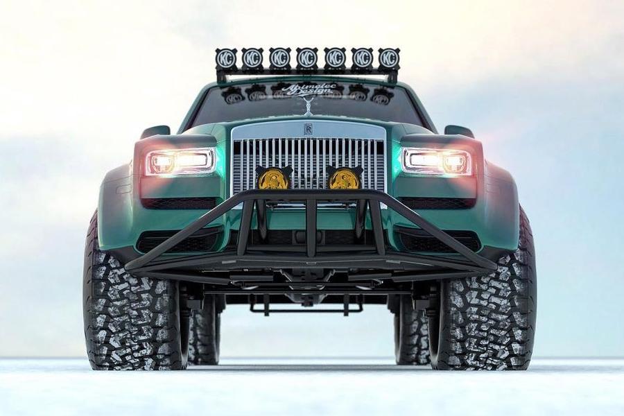 Arktisexpeditionen Bentley Conversion Front