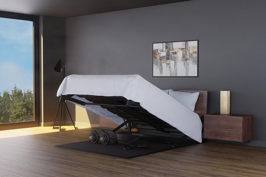 Pivot Bed Home Gym Einstellung