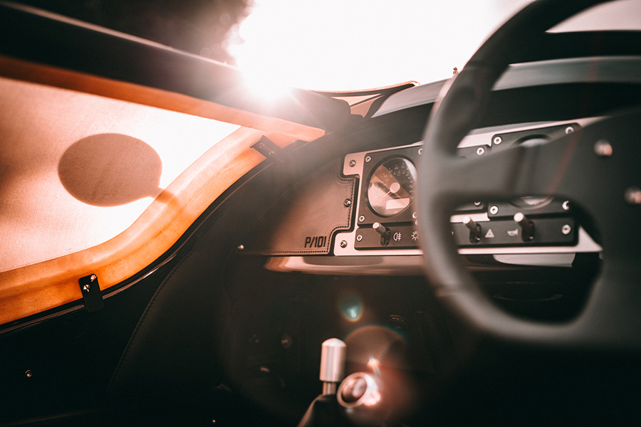 Morgan bringt neues 3 Wheeler P101 Dashboard in limitierter Auflage auf den Markt