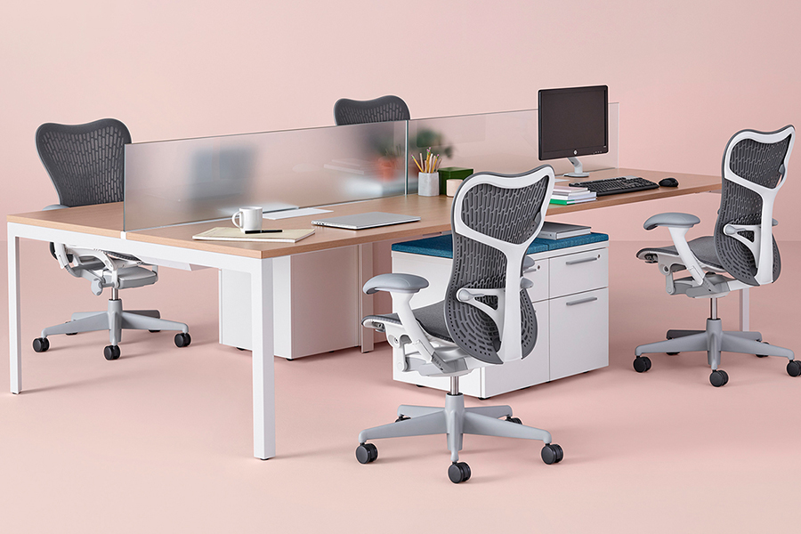 Beste ergonomische Bürostühle Herman Miller Mirra Stuhl