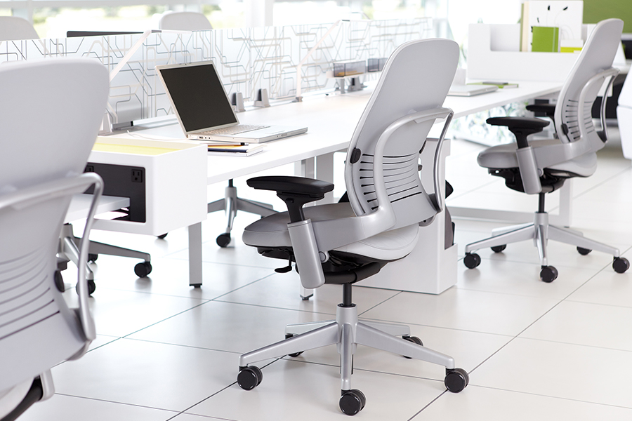 Steelcase Leap Fabric Office Chair