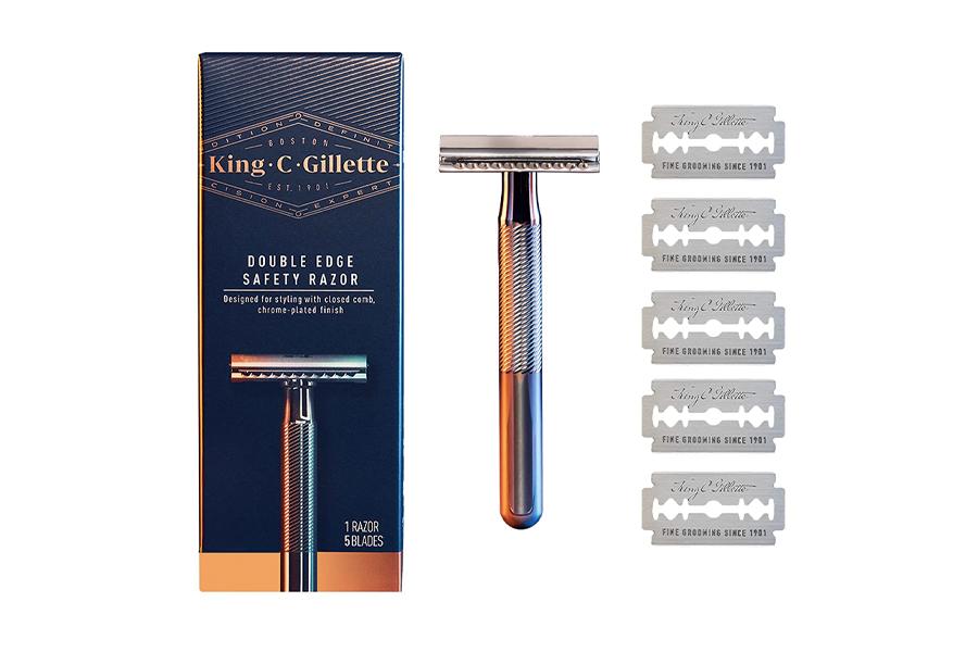 King C Gillette Rasiermesser mit doppelter Schneide