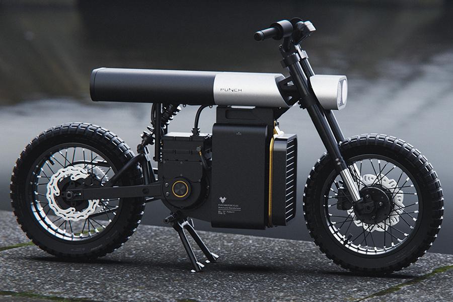 Punch Urban Electric Motorrad