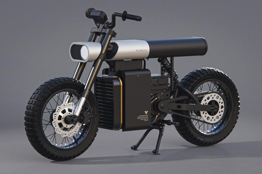 Punch Moto enthüllte gerade das Elektrofahrrad der Zukunft