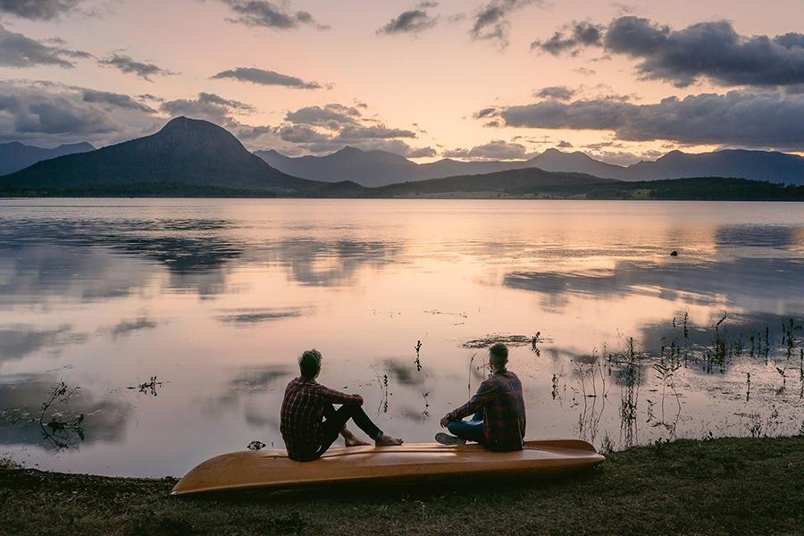Beste Campingplätze in der Nähe des Brisbane Lake Moogerah Caravan Park