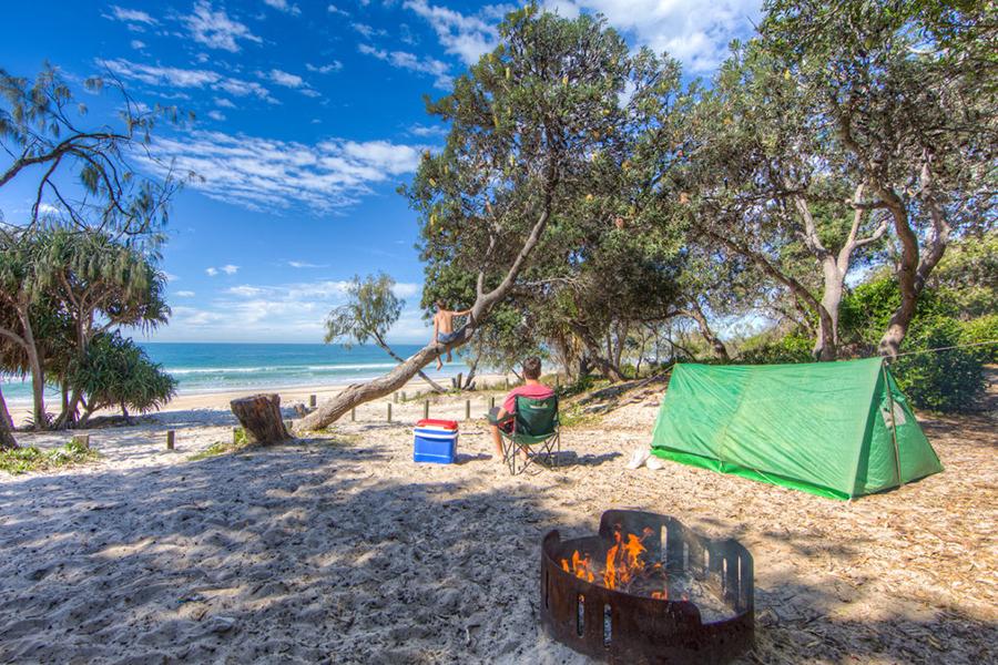 Beste Campingplätze in der Nähe von Brisbane Bribie Island National Park und Erholungsgebiet
